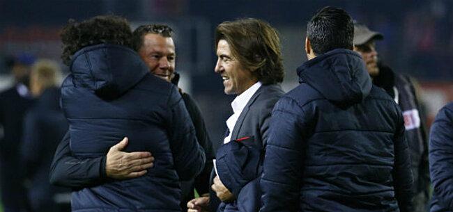 Foto: Sa Pinto lijkt zijn vel gered te hebben: