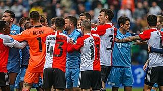 Spelers Feyenoord strijden om recordtransfer Kuyt