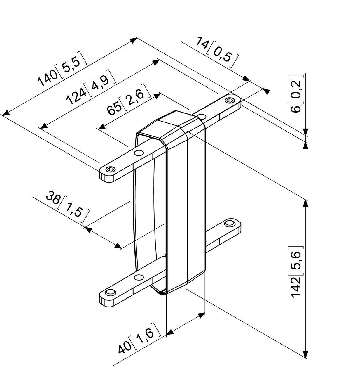 PFA 9104 Bar coupler for PFB 34xx