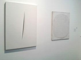 Lucio Fontana, Antonio Tàpies, , Kaiser Wilhelm Museum