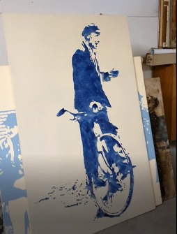 Peer Böhm: Fahrradmann