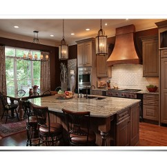 Custom Wood Hoods Kitchen Color Paint Cabinets Copper Range | In By ...