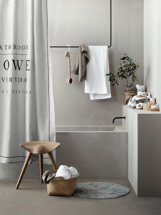 La tenda per doccia è anche una. Tende Per Doccia Come Scegliere Quella Perfetta