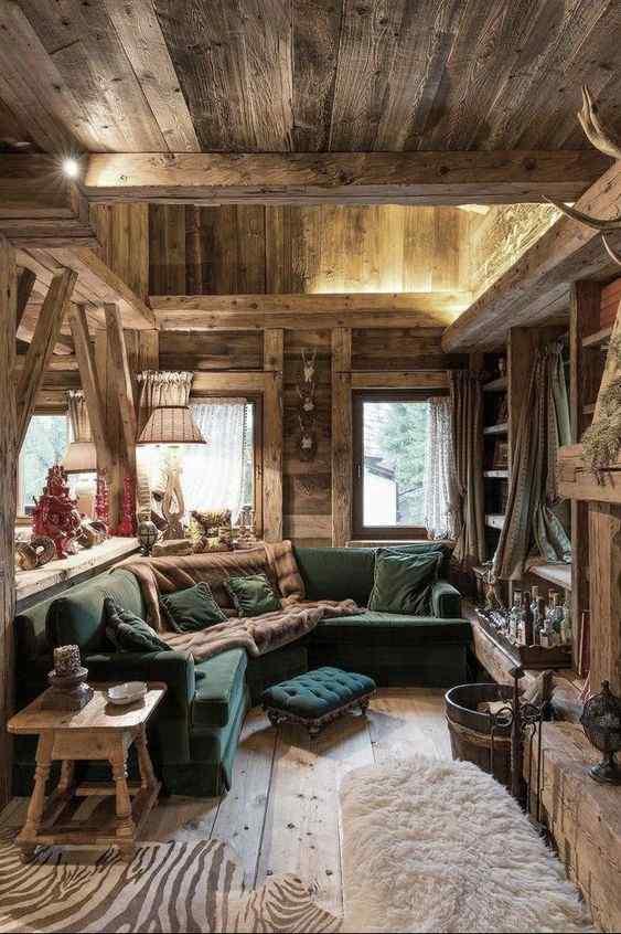 Prima o poi quasi tutti si avventurano nell' Come Arredare Casa Con L Arredo Rustico Guida 2021 Foto