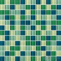 Blue Green Mosaic Tile | Tile Design Ideas