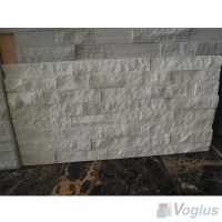 Natural Split Face Culture Stacked Stone Marble Mosaic ...
