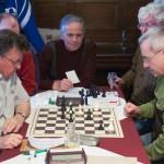 Das spannende Finale zwischen Ulrich Rehm (Treuen) und Heinz Zöphel (Adorf)