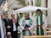 Ökumenisches Straßenfest in der Greizer Nahmmacherstraße