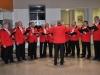 Männerchor Raasdorf erfreute mit weihnachtlichen Gesängen die Patienten des Greizer Krankenhauses