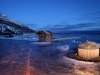Rundreise durch Skandinavien auf der suche nach dem Polarlicht