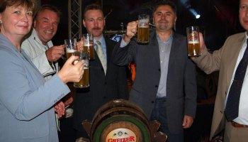 Super Stimmung beim Greizer Brauereifest