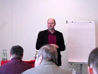 Gastreferent war MdL Frank Kuschel