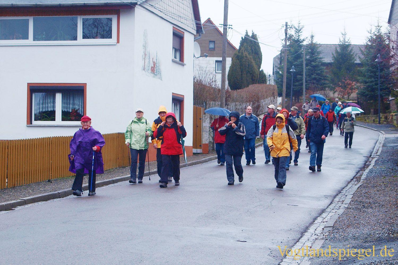 19.Bergaer Frühlingswanderung lockt 155 Wanderer auf die Strecken