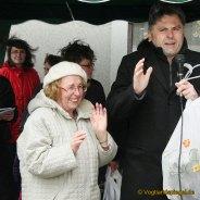 Greizer Osterbrunnen wurde mit bunten Programm gesegnet