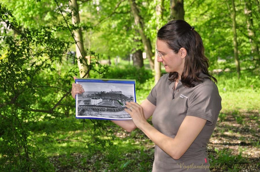 Führung von Parkverwalterin Anja Riemann