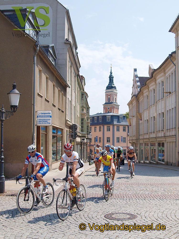 Promo-Tour der 25. Thüringen-Rundfahrt der Frauen macht Station auf dem Westernhagen-Platz