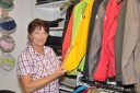 """Brigitte Jasinski vom Trekkingfachgeschäft """"draussen leben"""