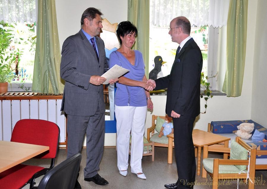 Fördermittel für Kita Kunderbunt in Greiz-Irchwitz