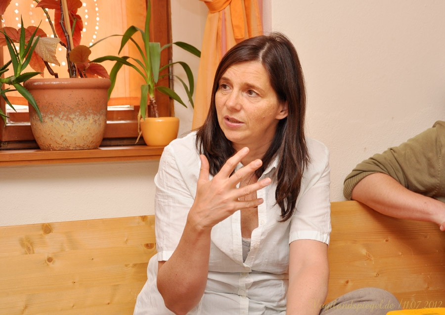 Vizepräsidentin des Deutschen Bundestages Katrin Göring-Eckardt