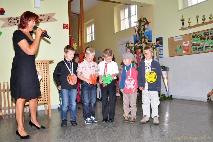 Schuleinführung in Mohlsdorf