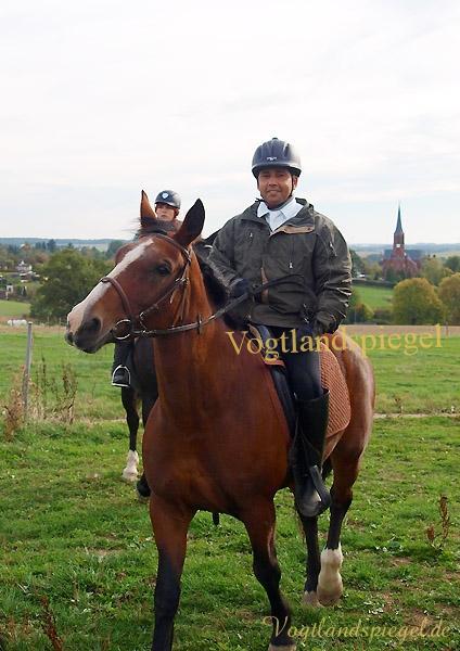 Achmed Sewina ist der neue Fuchs beim RFV Mohlsdorf e.V.
