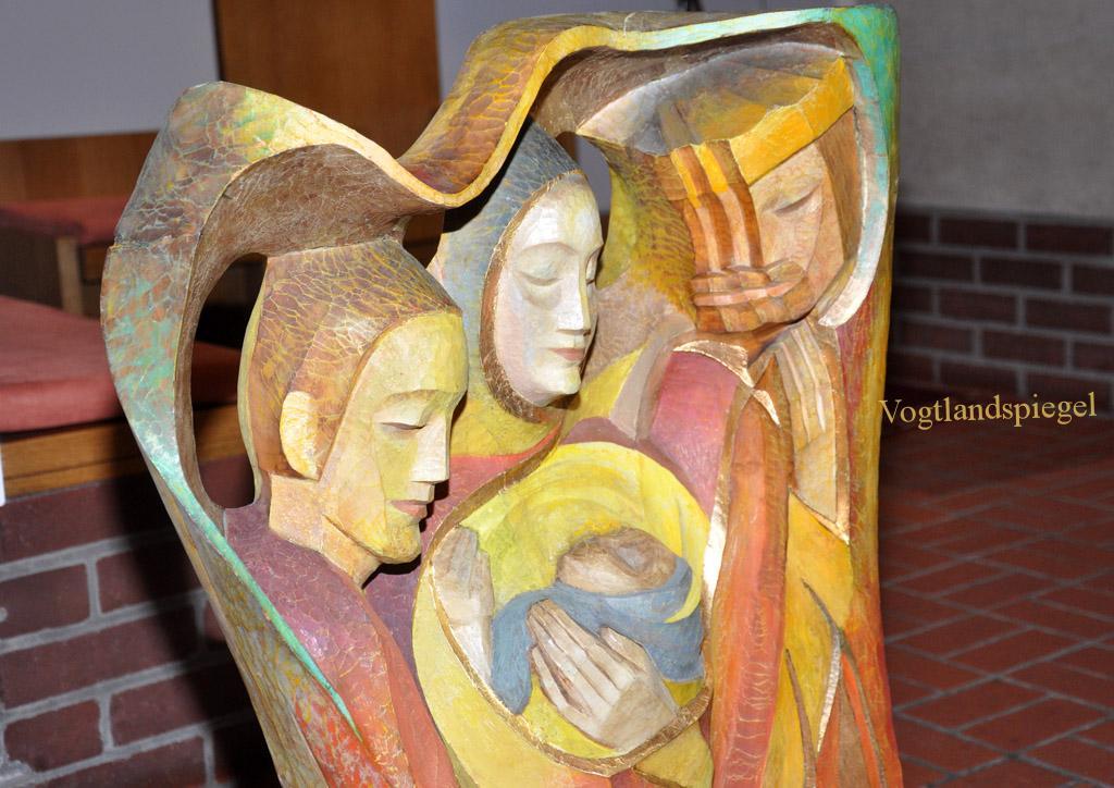 Krippe und Kreuz - Ausstellung mit Werken von Elly-Viola Nahmmacher