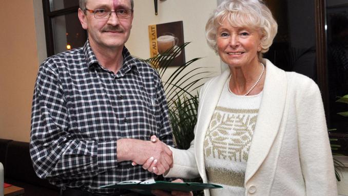 Ulrich Jetschke vom Verein Hilftstransport Greiz-Brest