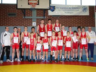 Thüringer Ringer-Meisterschaften der Männer und Jugend im Sportgymnasiums in Jena