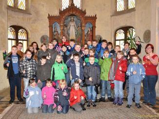 Komm-Mit-Gottesdienst in Pohlitzer Kirche mit Kinderkirchennacht