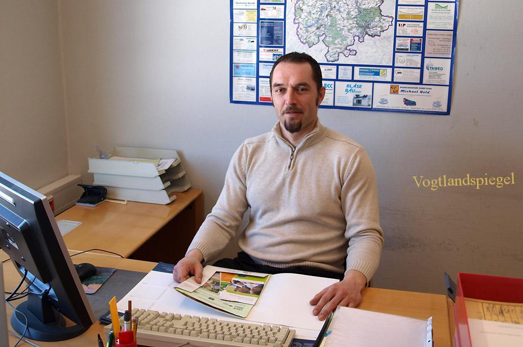 Frank Horenburg, Netzwerker beim Kreissportbund Greiz
