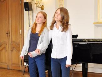 Preisträgerkonzert des Regionalwettbewerbs Jugend musiziert der Greizer Musikschule Bernhard Stavenhagen