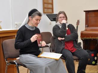 Seminartag der Ehrenamtlichen in Pohlitzer Kirche zum Thema Sehnsucht nach Gott