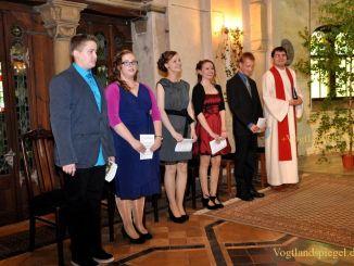 Feierliche Konfirmation in Pohlitzer Kirche