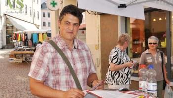 """Zweiter Aktionstag zum """"Umfairteilen"""" in Greiz"""