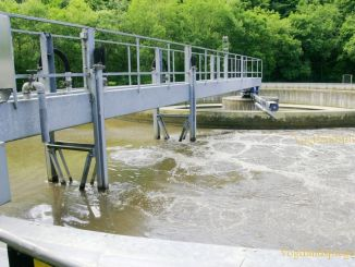 Abwasserreinigung auf der Kläranlage Berga