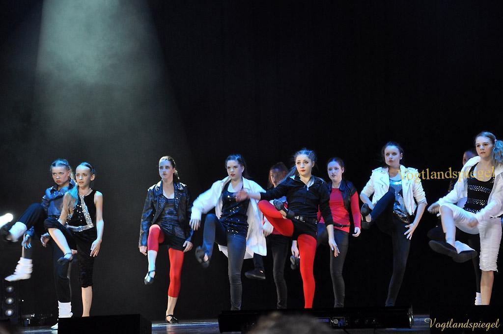 Tanz-Gala der Greizer Musikschule in Vogtlandhalle