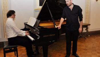 Johannes Weisser und Daniel Heide
