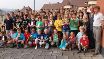 Kreisjugendspiele 2013 des Landkreises Greiz mit Festakt beendet