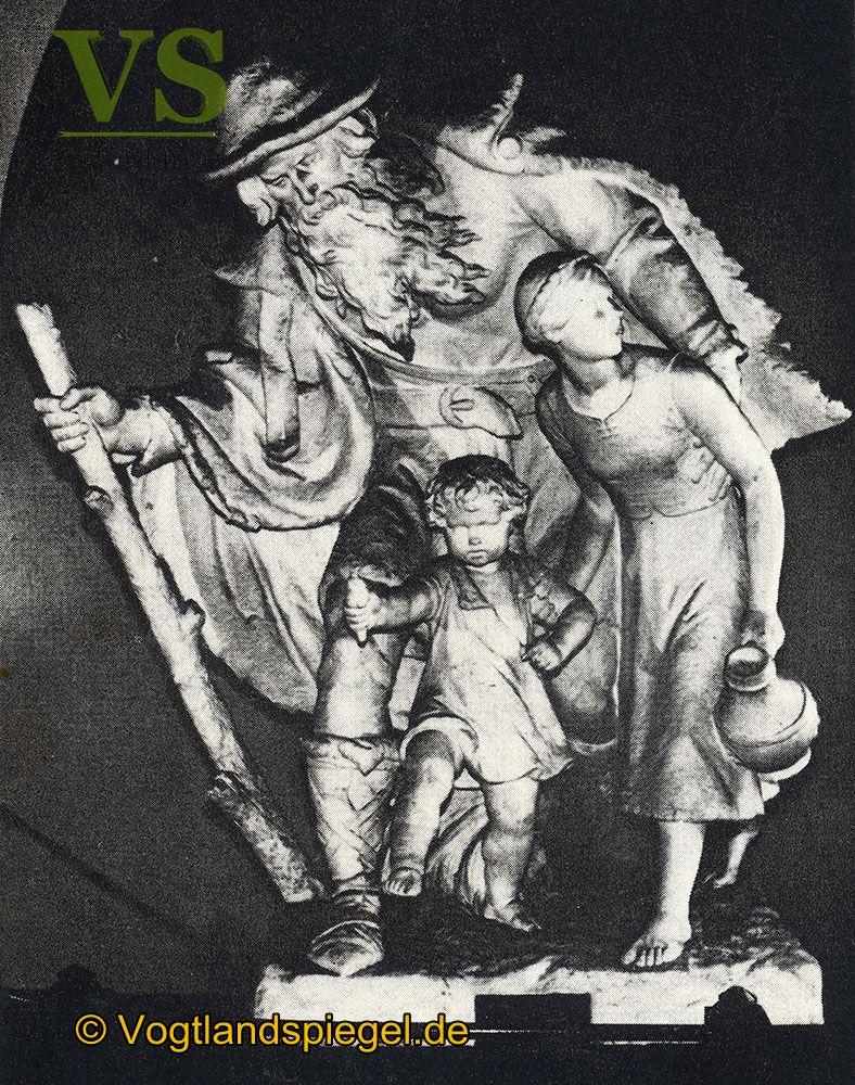 Der »Getreue Eckart«   eine Großplastik des Greizer Künstlers Carl Roeder
