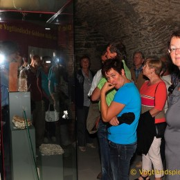 Führung auf dem Oberen Schloss zum Tag des offenen Denkmals