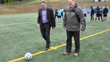 Im Greizer Tempelwald wurden die Fußballschuhe geschnürt