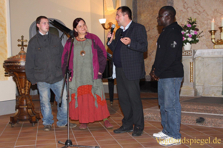 Friedensgebet in Greizer Stadtkirche »St. Marien«