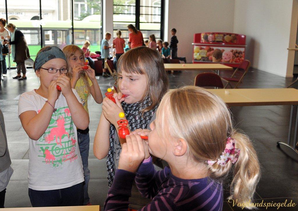 Greizer Grundschüler wissen beim Lungentag gut Bescheid