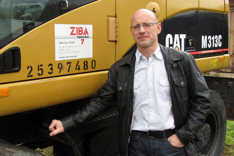 Toralf Zipfel, Geschäftsführer ZIBA-Bau