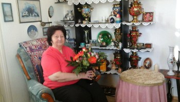 Valentina Gruschwitz begeht 70. Geburtstag