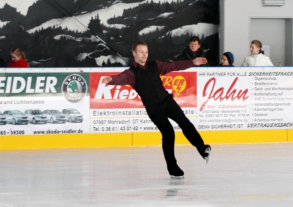 Hainberger Sportverein Greiz,Schaulaufen,Sektion Eiskunstlaufen