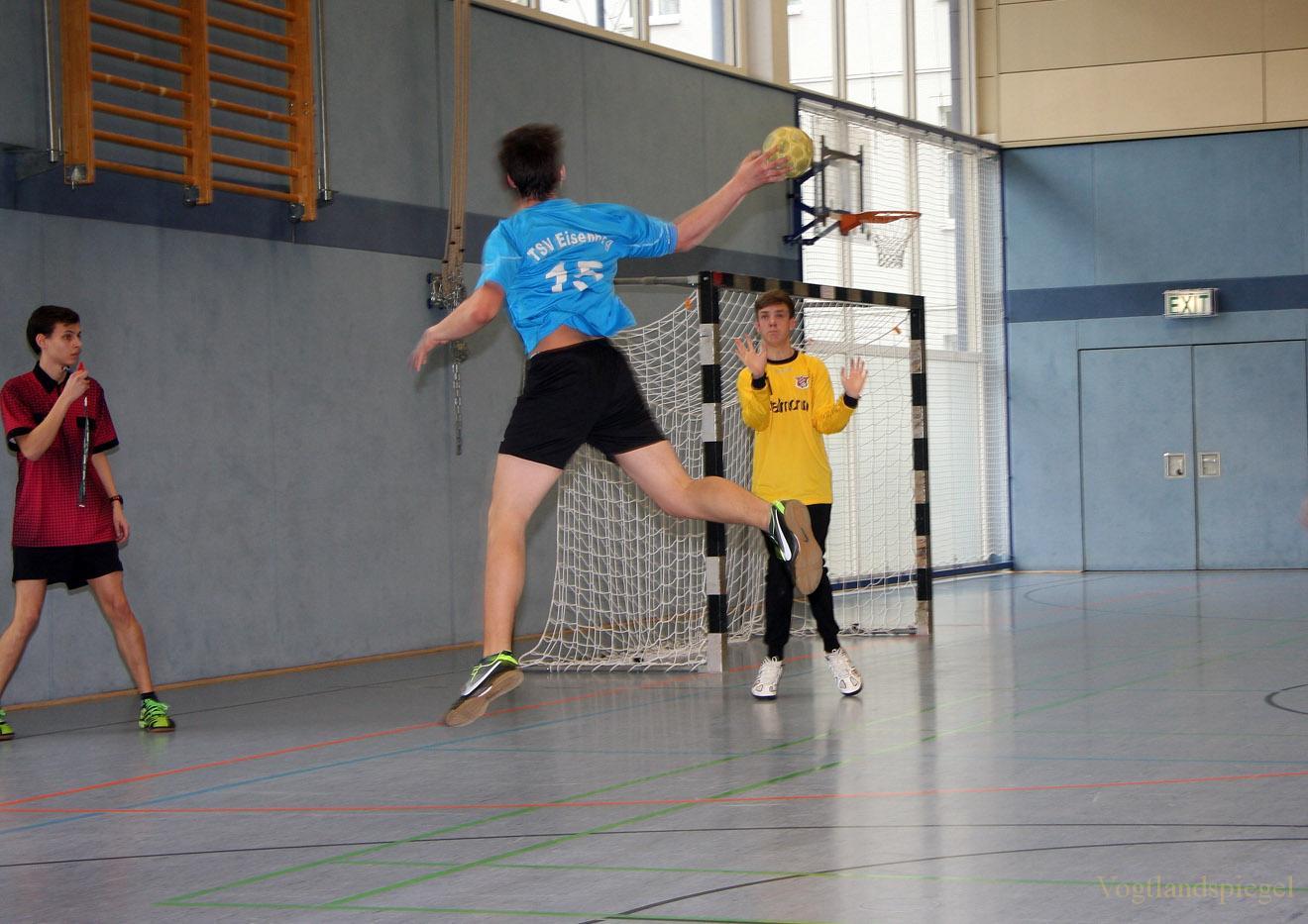 B-Jugend der TSG Concordia Reudnitz gegen TSV Eisenberg