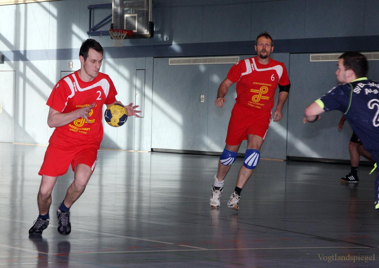 Handball. TSG Concordia Reudnitz gegen SV Blau-Weiß Auma