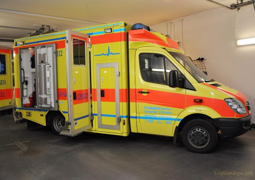 Gesundheitspolitisches Gespräch in Rettungsambulanz Greiz GmbH