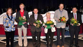 Landrätin Martina Schweinsburg ehrt Ehrenamtliche des Landkreises Greiz